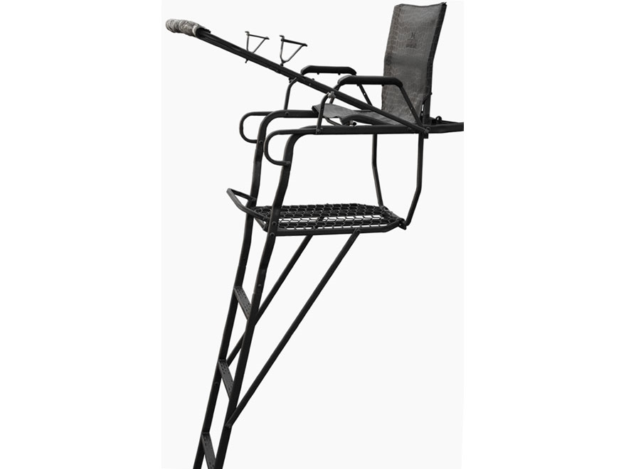 Hawk 21' Destination Ladder Treestand Steel Black