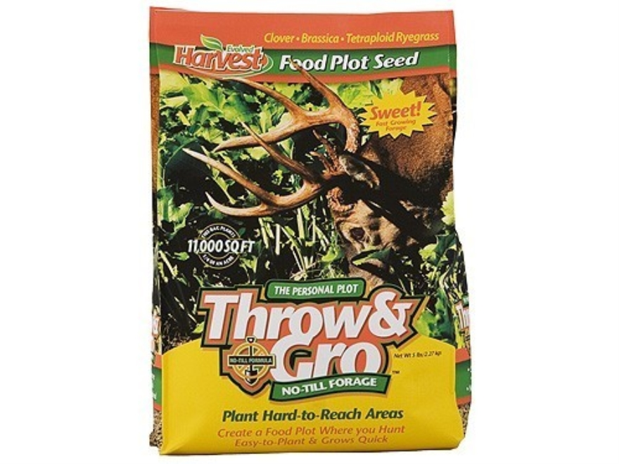 Evolved Harvest Throw & Gro Annual Food Plot Seed 5 lb