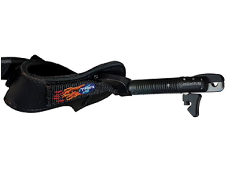 T.R.U. Ball Sniper 2 Bow Release Buckle Wrist Strap Black