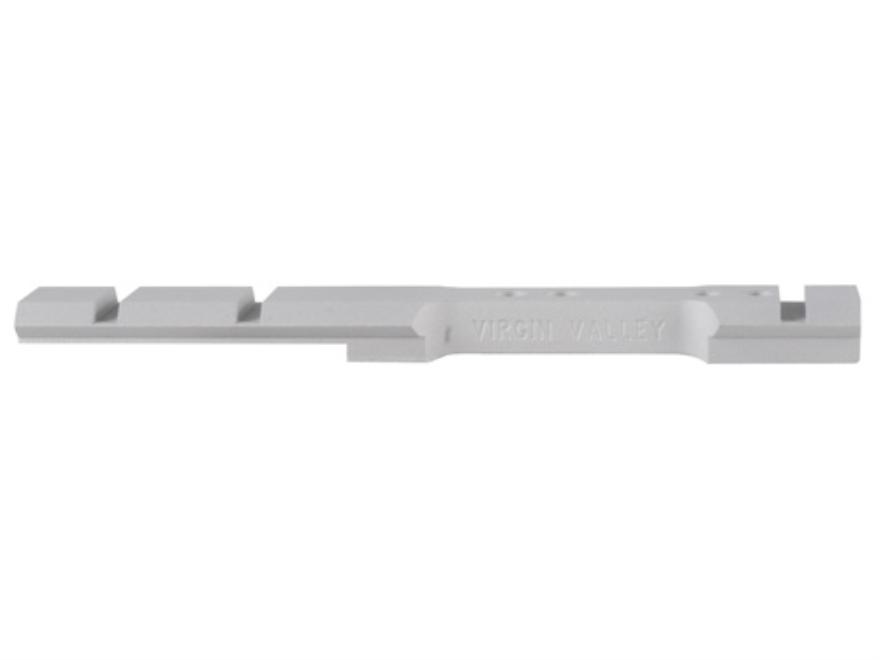 Virgin Valley Weaver-Style Aluminum 4-Hole Scope Base Thompson Center Encore Silver