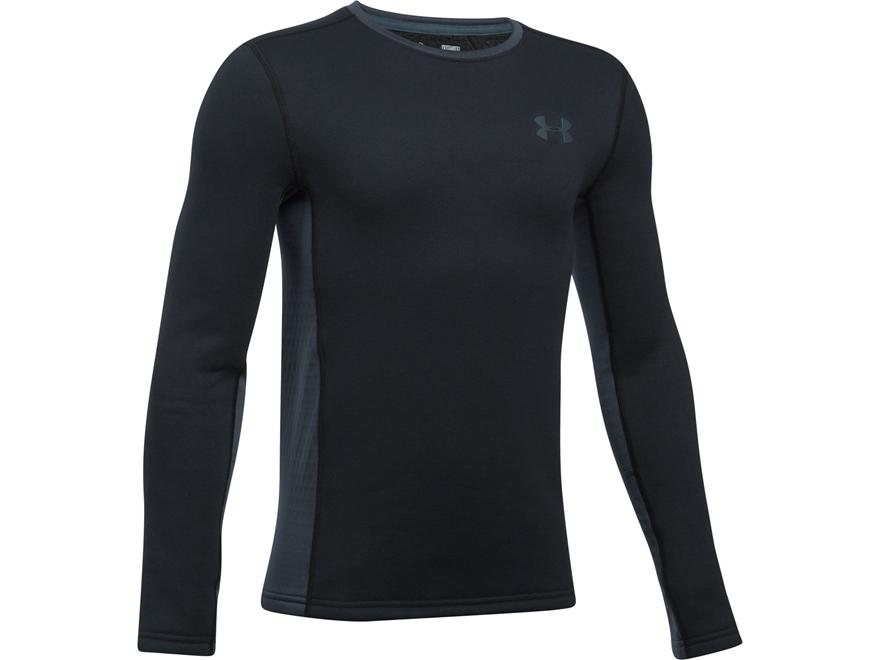 Under Armour Boy's UA Extreme Base Layer Shirt Long Sleeve Polyester Black Youth XL