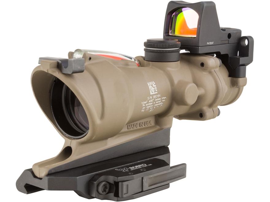 Trijicon ACOG TA31-ECOS-RMR BAC Rifle Scope 4x 32mm Dual-Illuminated Green Crosshair 22...
