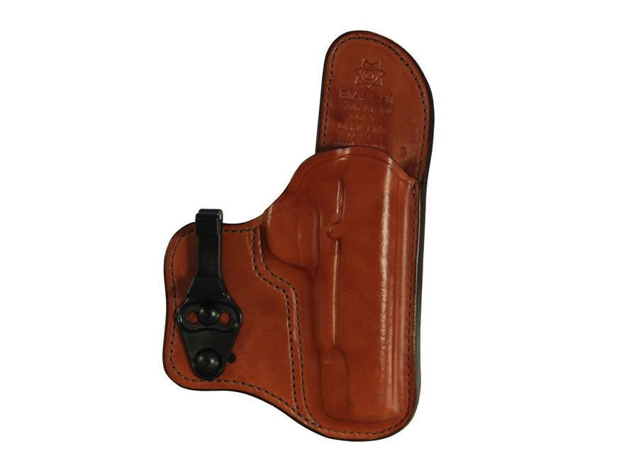 Bianchi 100T Professional Tuckable Inside the Waistband Holster Leather
