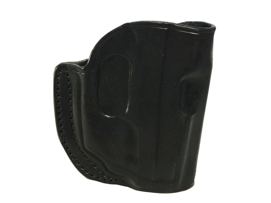 Galco Stinger Belt Holster Right Hand with LaserMax Leather Black