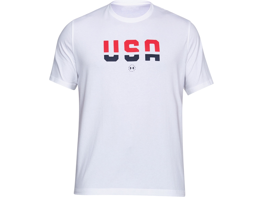 Under Armour Men's UA Freedom USA T-Shirt Short Sleeve Charged Cotton