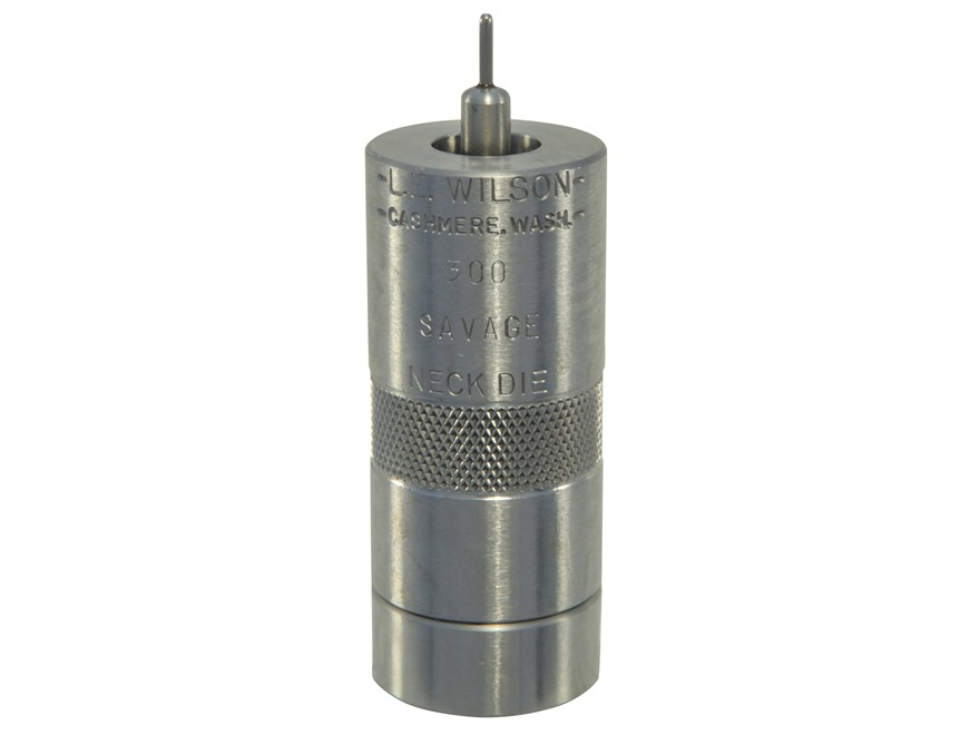 L.E. Wilson Stainless Steel Bushing Neck Sizer Die 300 Savage