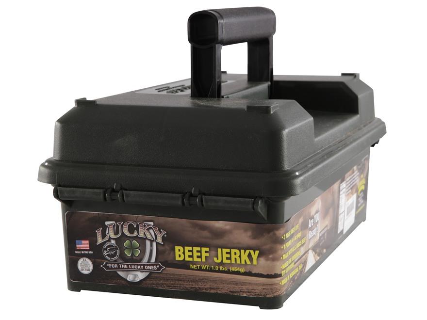 Lucky Brand Beef Jerky 1 Pound Prepper Pack