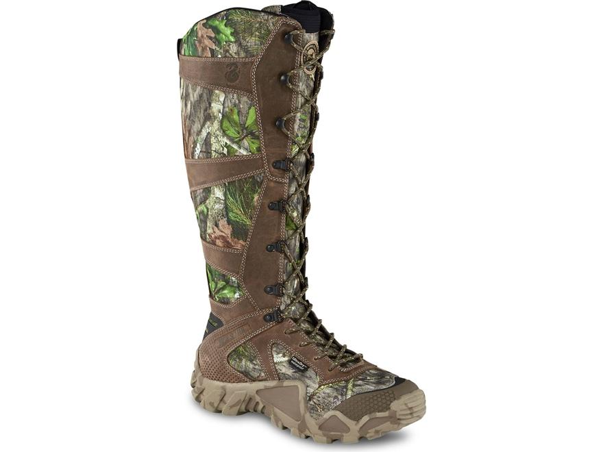 "Irish Setter VaprTrek 17"" Waterproof Snake Boots Nylon and Leather Men's"