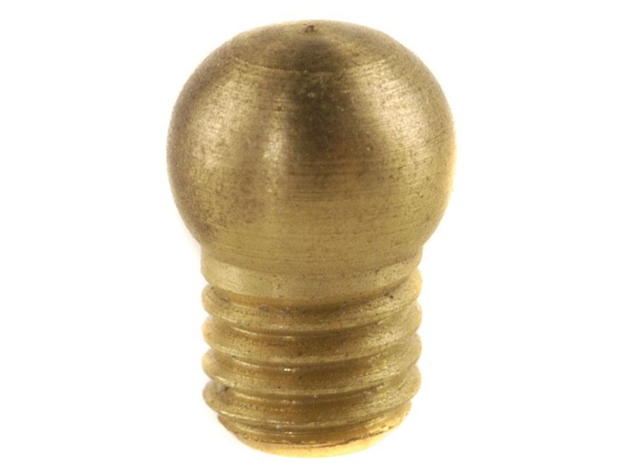 "Williams Shotgun Front Bead Sight .175"" Diameter 6-48 Thread .125"" Shank Aluminum Gold"