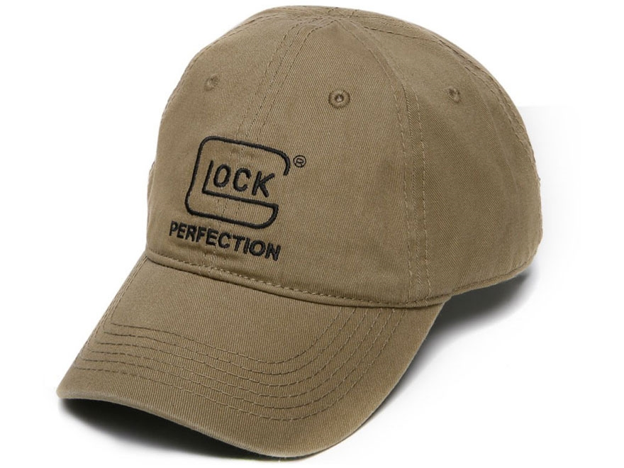 Glock Perfection Chino Logo Cap Polyester Olive Drab