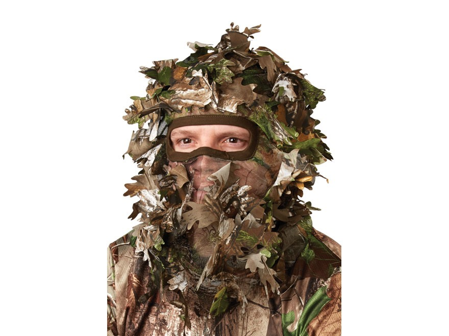 Hunter's Specialties Leafy Face Mask Polyester Realtree Xtra Green Camo