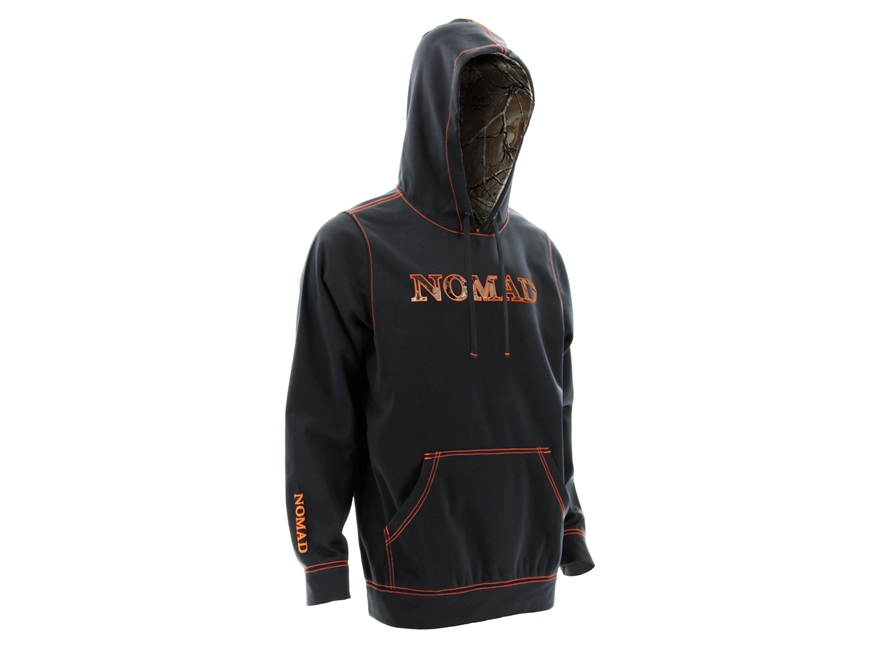 Nomad Midweight Logo Hoodie Fleece and Polyester