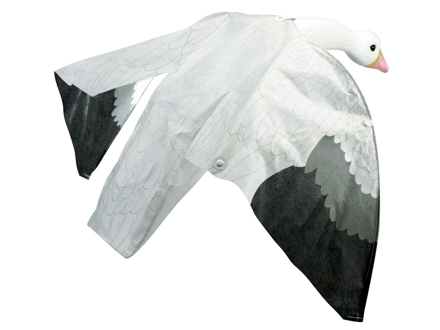 Lucky Duck Snow Goose Magnet Motion Decoy