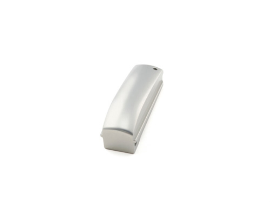 Hogue Mainspring Housing Arched 1911 Government, Commander Smooth Brushed Aluminum Glos...