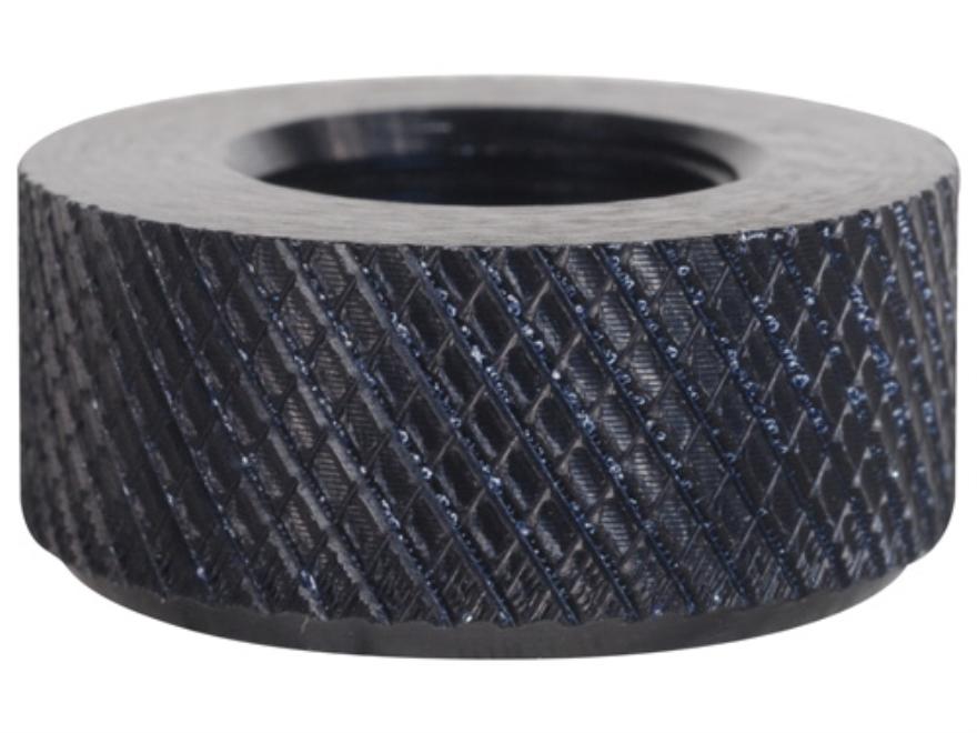 """E.R. Shaw Barrel Thread Protector Cap 1/2""""-28 .920"""" Diameter Barrel Aluminum Black"""