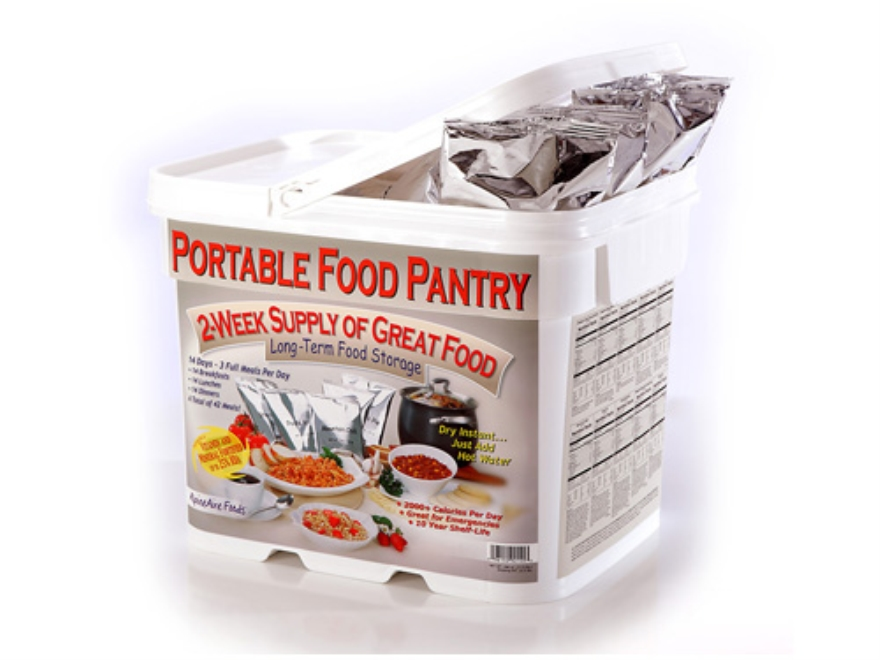 AlpineAire Be Ready Pantry Freeze Dried Meal Kit (42 Pouches)