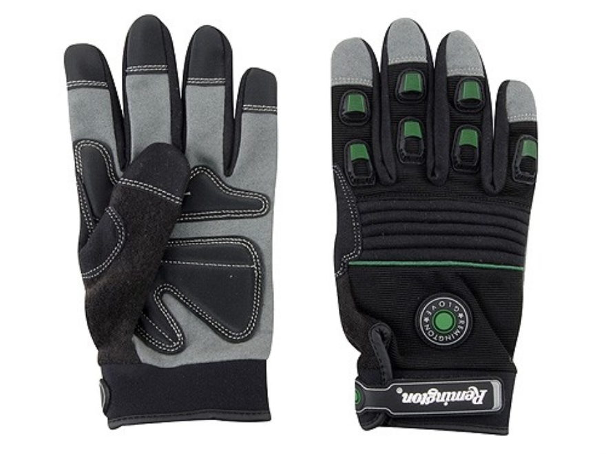 Remington RG-13 Impact Gel Gloves Synthetic Black XL