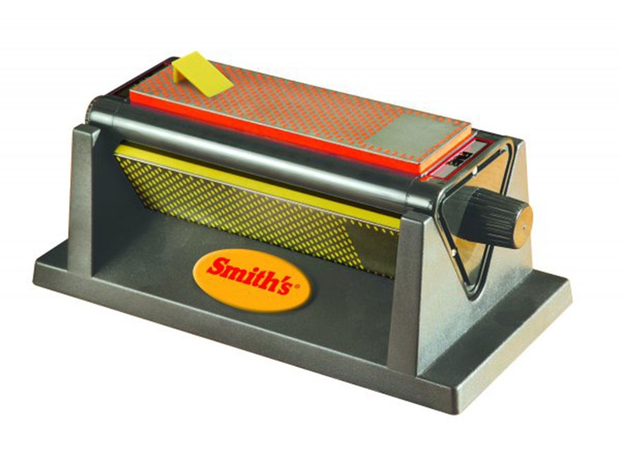 "Smith's 8"" Diamond Tri-Hone Knife Sharpener System"