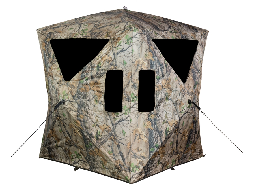 "Big Game The Charger Ground Blind 66"" x 66"" x 64"" Nylon Epic Camo"