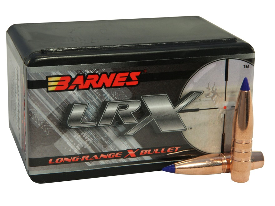 Barnes Long-Range Hunting Bullets 30 Caliber (308 Diameter) 200 Grain LRX Boat Tail Box...