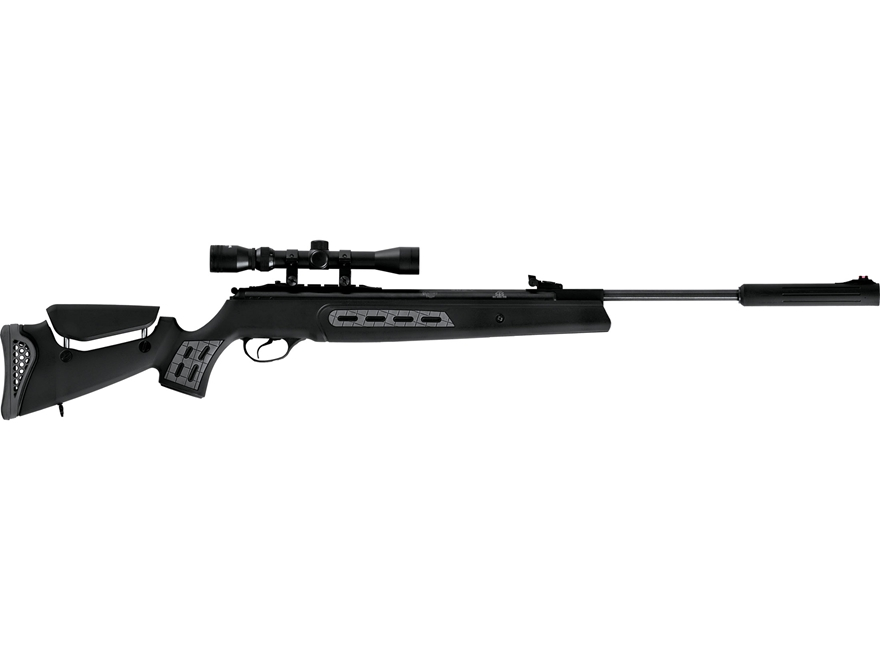 Hatsan Model 125 Sniper Break Barrel Air Rifle Pellet Synthetic Stock Black Barrel with...