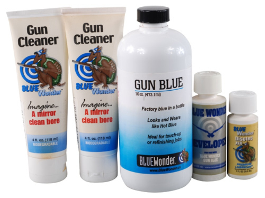 Blue Wonder Gun Blue Cold Blue 16 oz Kit