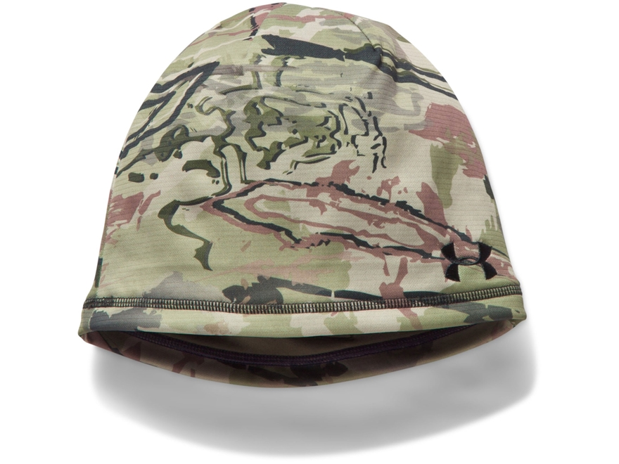Under Armour UA Scent Control Reversible Beanie Polyester Ridge Reaper Barren Camo/Hear...