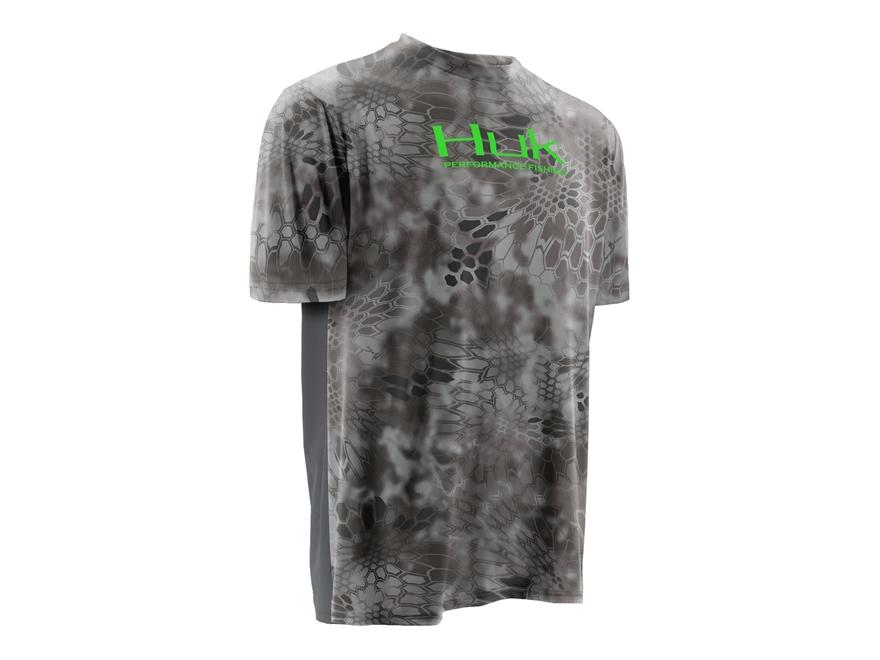 Huk Men's Kryptek Icon Performance Shirt Short Sleeve Polyester