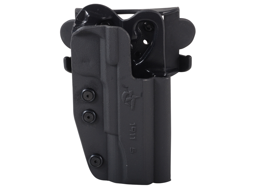 Comp-Tac International Belt Holster Right Hand 1911 Kydex Black