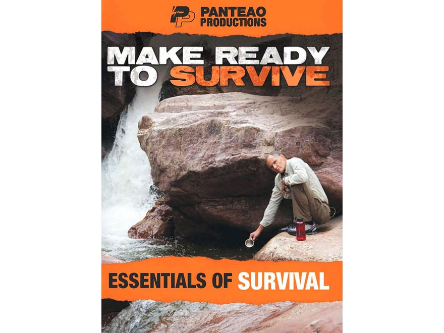 "Panteao ""Make Ready to Survive: Essentials of Survival"" DVD"