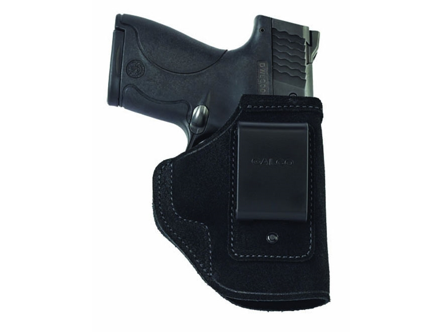 Galco Stow-N-Go Inside the Waistband Holster Right Hand Glock 43 Leather Black
