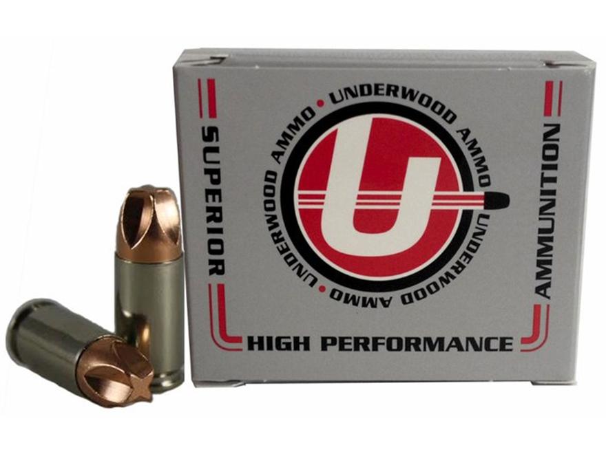 Underwood Xtreme Defender Ammunition 9mm Luger 65 Grain Lehigh Xtreme Defense Lead-Free...