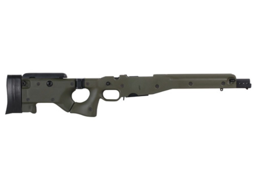 Accuracy International Chassis System (AICS) 2.0 Folding Stock Remington 700 Short Acti...
