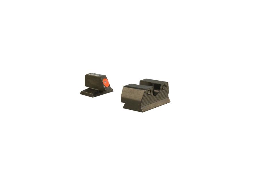 Trijicon HD XR Night Sight Set FN FNX-45, FNP-45 Steel Matte 3-Dot Tritium Green