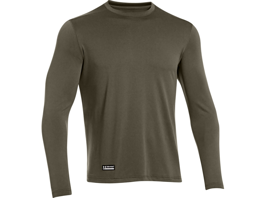 Under Armour Men's UA Tac Tech Shirt Long Sleeve Polyester