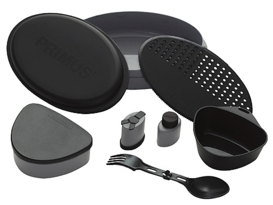 Primus Camping Meal Set Poylmer Black