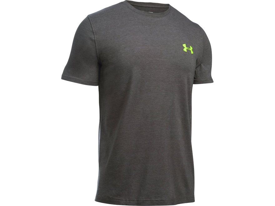 Under Armour Men's UA Covered Up T-Shirt Short Sleeve Poly/Cotton Blend