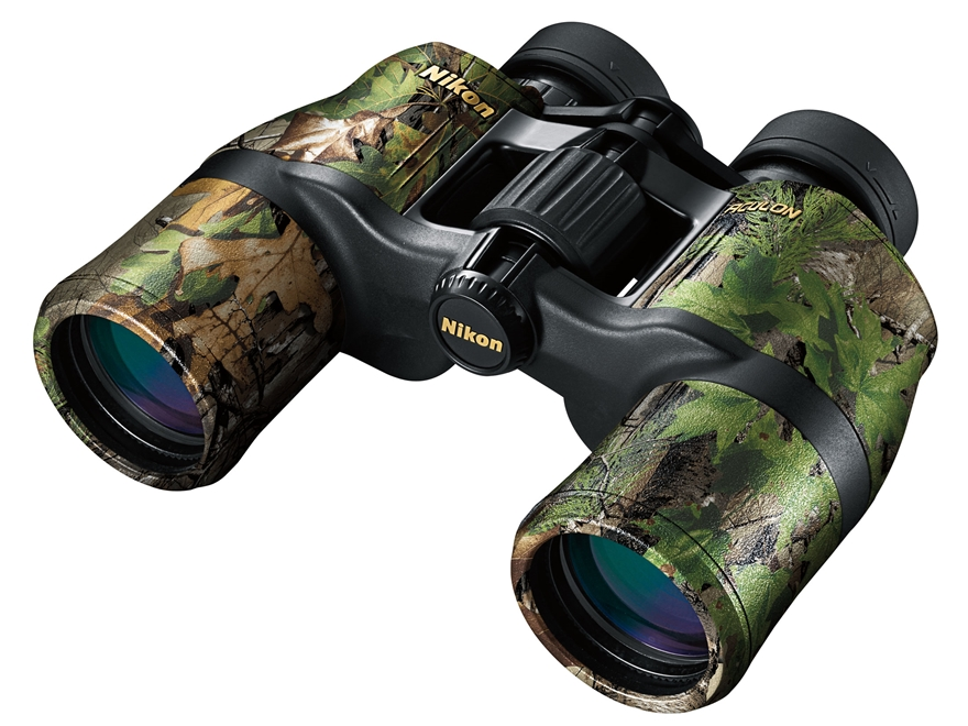Nikon Aculon Binocular 8X 42mm Roof Prism Xtra Green