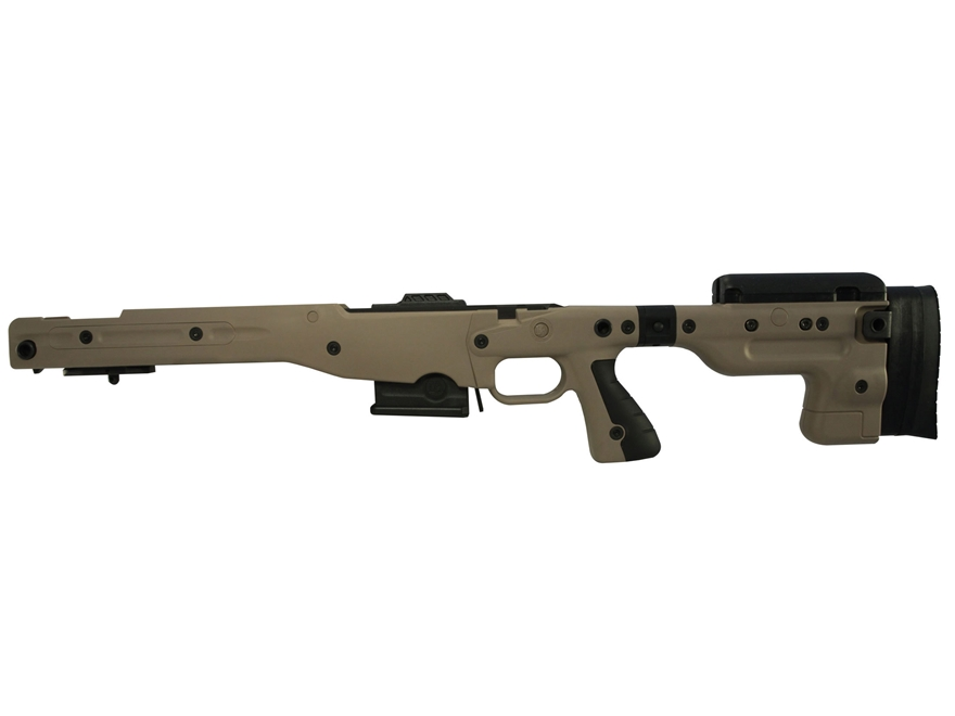 Accuracy International Chassis System AT AICS Stage 2.0 Folding Adjustable Stock Reming...