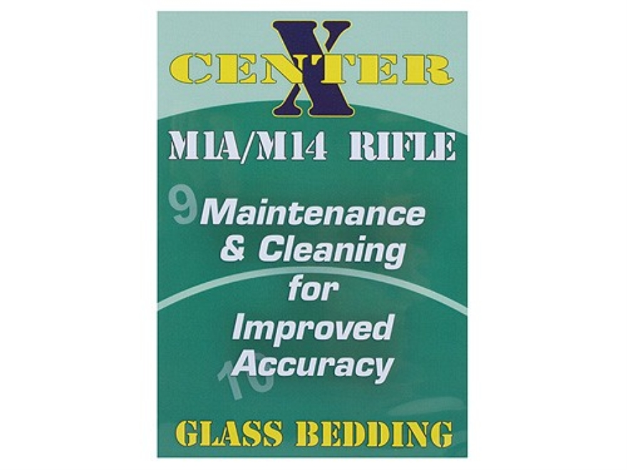 "Gun Video ""Center X: Glass Bedding M1A/M14 Rifle"" DVD"
