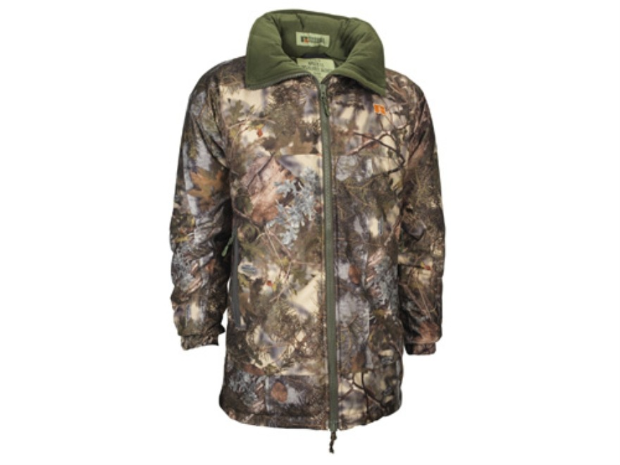 APX Men's L5 Whiteout Insulated Jacket Polyester King's Mountain Shadow Camo Large 42-44