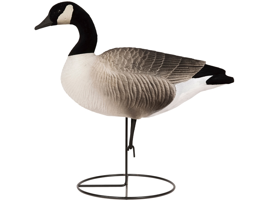 Tanglefree Pro Series Canada Goose Full Body Fully Flocked Upright Combo Decoy Pack of 6