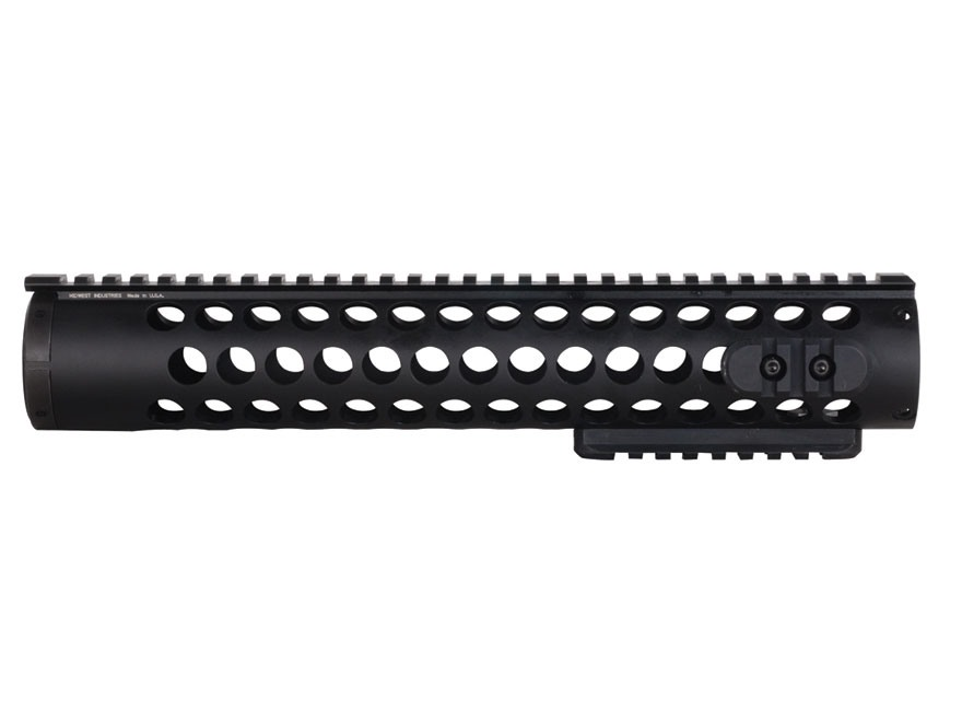 Midwest Industries SS-Series Free Float Modular Rail Handguard AR-15 Rifle Length Alumi...