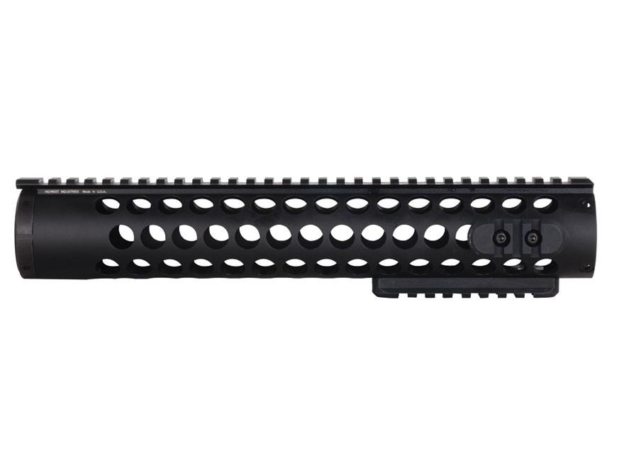 Midwest Industries SS-Series Free Float Modular Rail Handguard AR-15 Rifle Length Alumi...