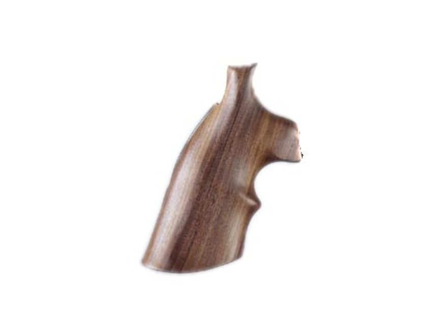 Hogue Fancy Hardwood Grips with Top Finger Groove Ruger GP100, Super Redhawk