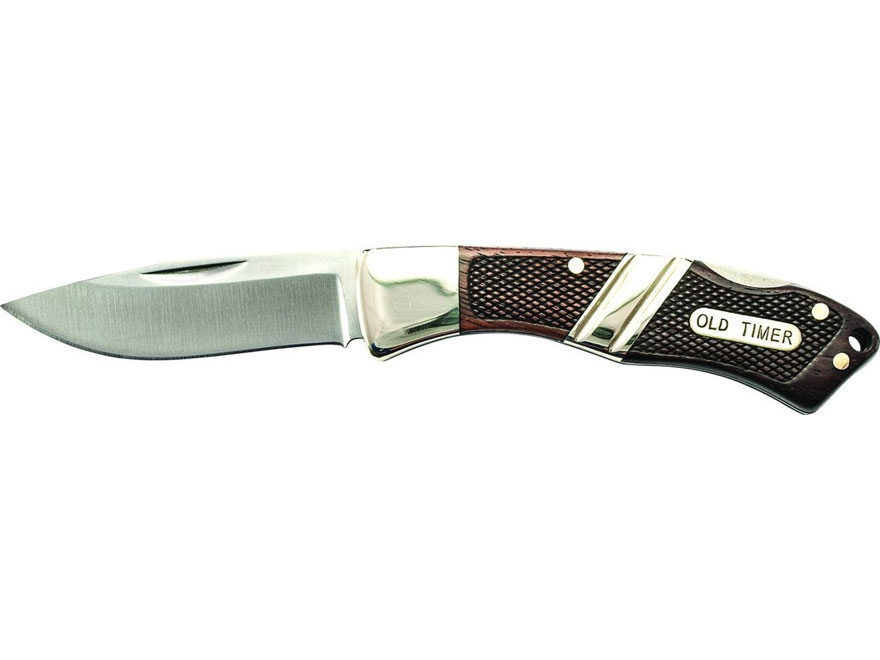 "Old Timer Mountain Beaver Jr. Folding Knife 2.5"" Drop Point 9Cr17MoV High Carbon Stainl..."