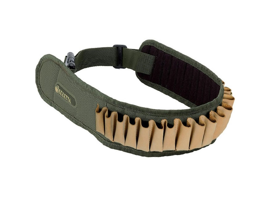 Beretta Retriever Cartridge Belt 20 Gauge 30 Round Nylon Green/Tan