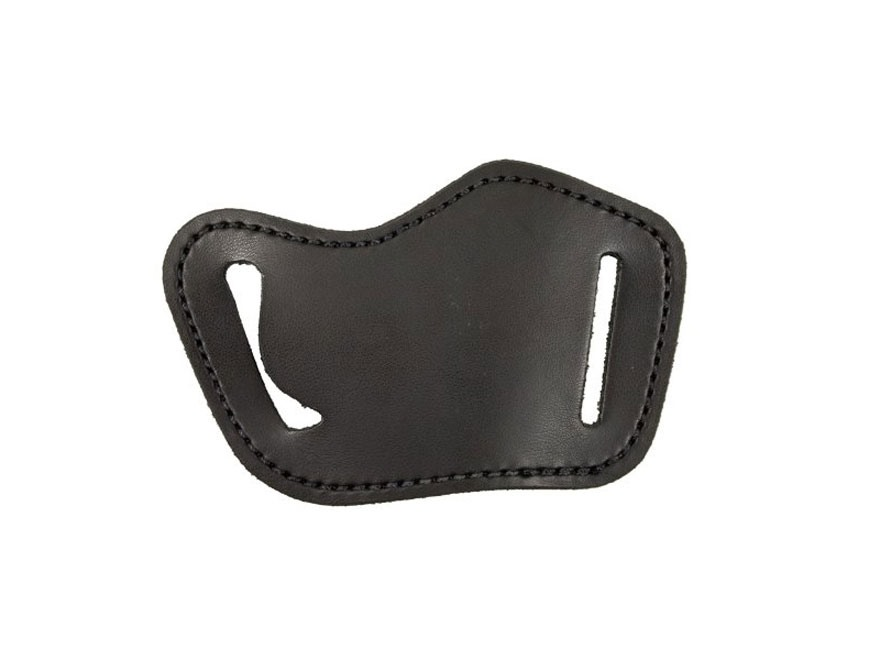 DeSantis Simple Slide Belt Holster Right Hand Small Autos Leather Black