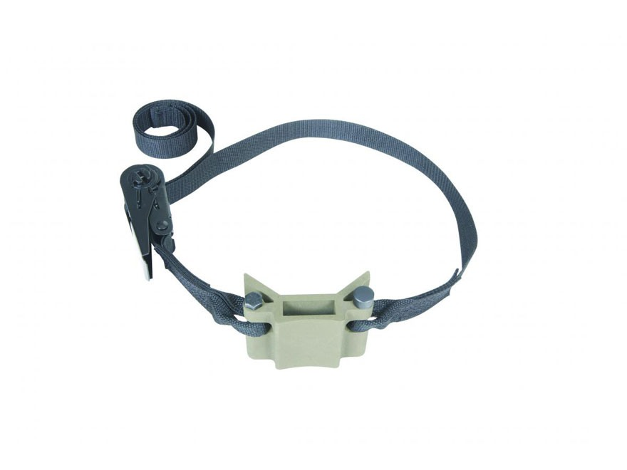Millennium Treestands M-102S Ratchet Strap Cam-Loc Receiver Bracket Aluminum Green
