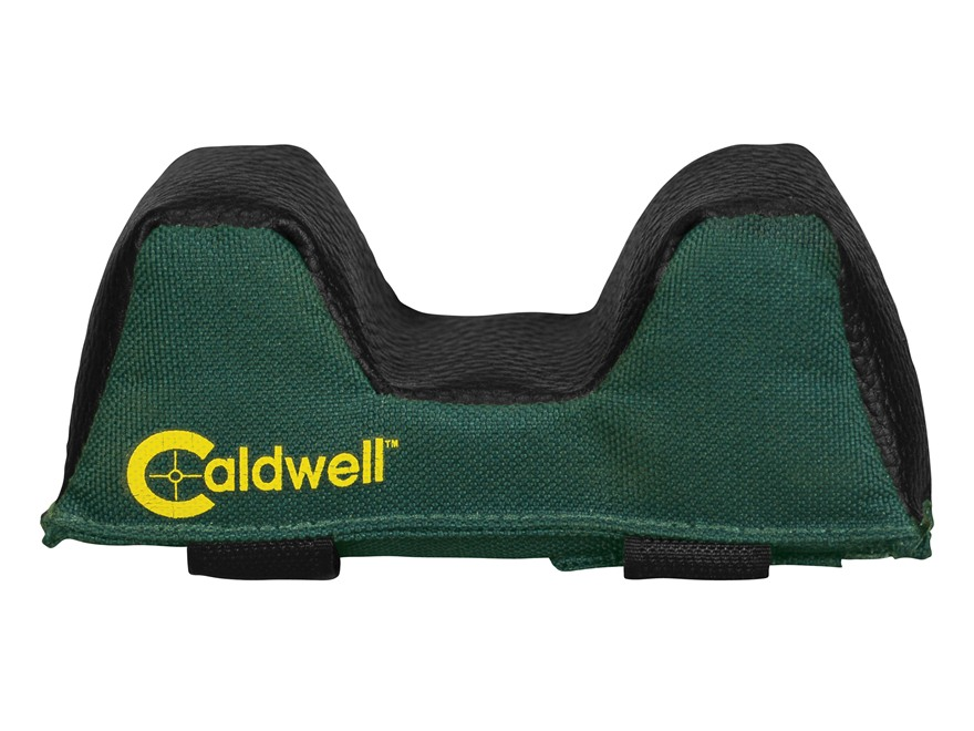Caldwell Universal Deluxe Varmint Forend Front Shooting Rest Bag Medium Nylon and Leath...